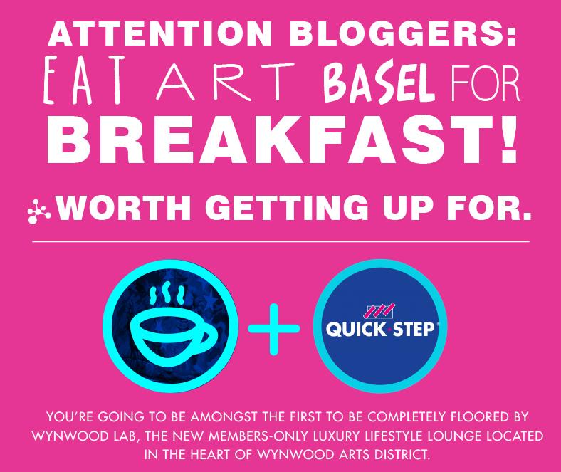Blogger's Breakfast