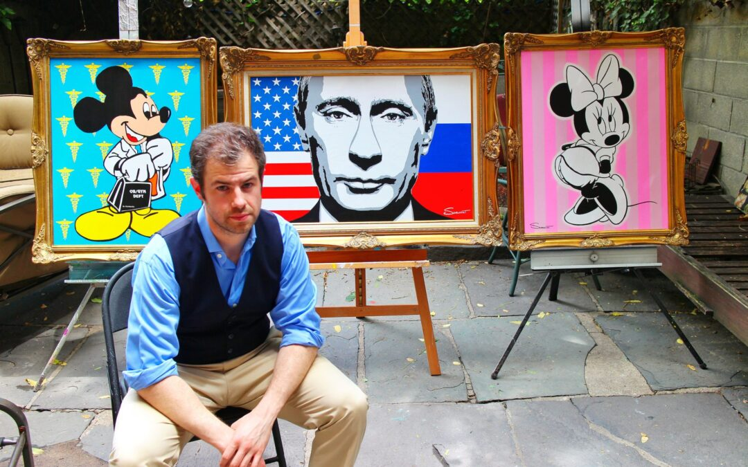 Dr. Steven Swancoat to Show Works Commissioned by Russian President Vladimir Putin at Miami's Hottest Venue During Art Basel