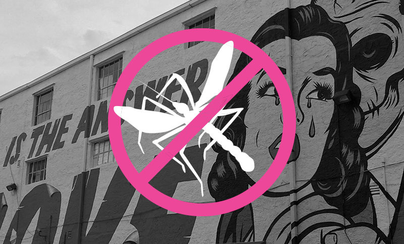 Casa Wynwood Takes Immediate Action to Protect Visitors from Zika-Carrying Mosquitoes