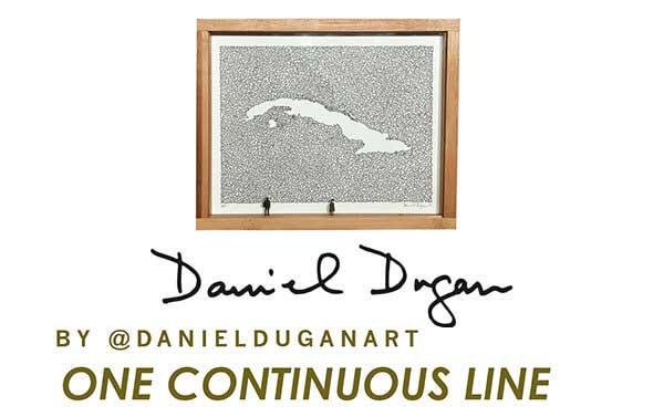 One Continues Line - Daniel Dugan - Wynwoodlab